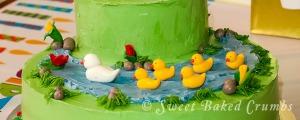 Ducks cake