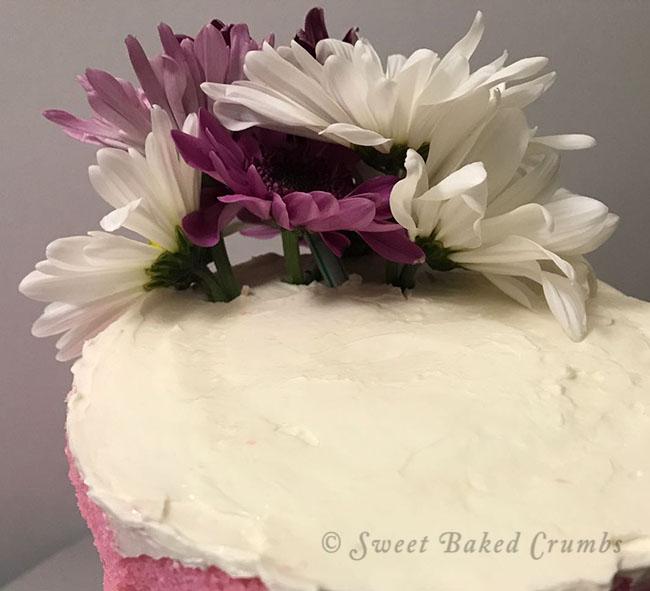 Naked cake - Flower insert - 680 px