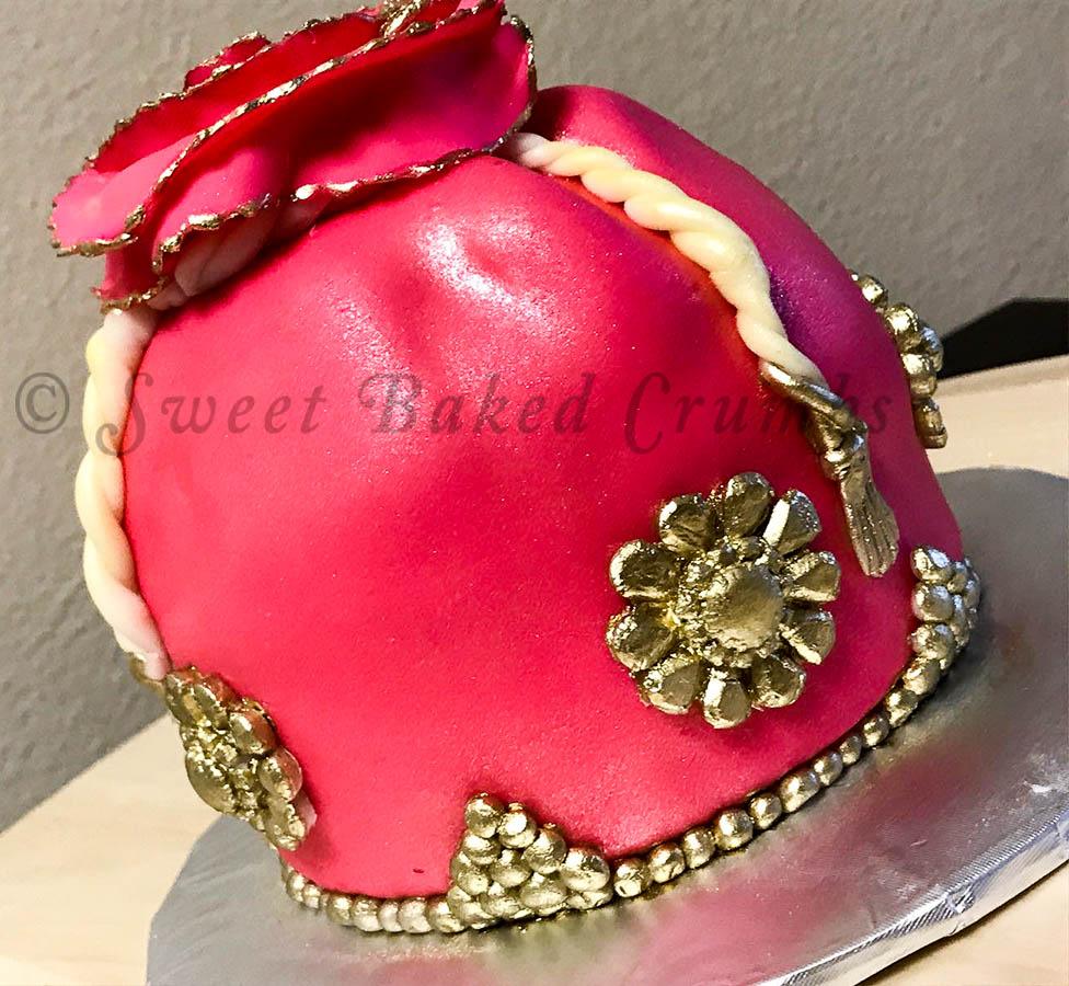 Potli cake / Batwa Cake/ Indian Purse cake
