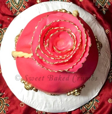 Potli cake top view