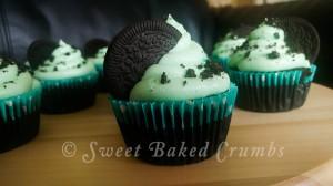 Oreo Chocolate Mint Cupcake