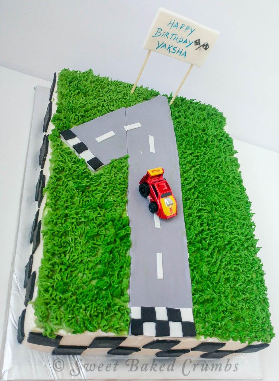 Sheet cake - Car